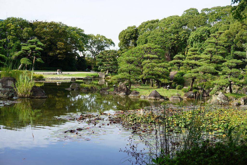 Park_Bäume_Teich_Tennoji