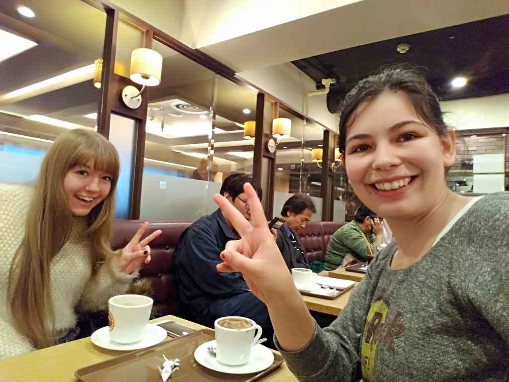 Café_Personen_Frau_Osaka