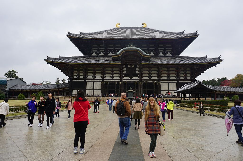 Menschen_Todaiji_Tempel